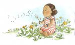 Dandelion girl Ellie Taylor -