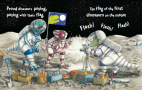 Dino on the Moon Penny Dale -