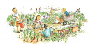 Vegetable Garden Ellie Taylor -
