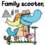 Family Scooter JIM SMITH -