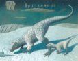 Yutyrannus Art only Peter Malone -