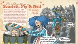 BRETT The Adventures of Scarlett, Pip & Nell - detail -