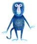 DOCHERTY Blue Baboon -
