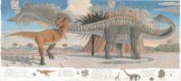 Carnotaurus Diplodocus Spread PETER MALONE - comp -