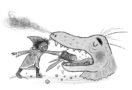 FRED WIZARD Lizard feeding -